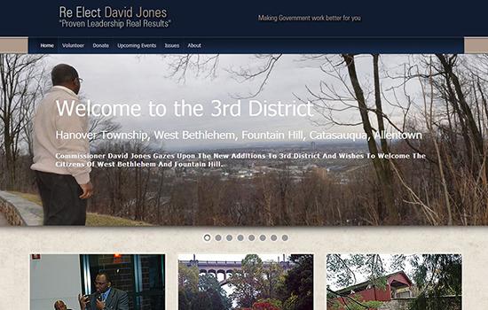Re-elect David Jones